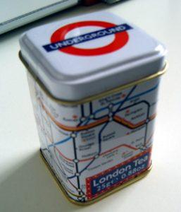 Londen tea tube