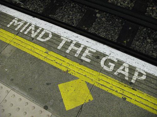 Mind the gap